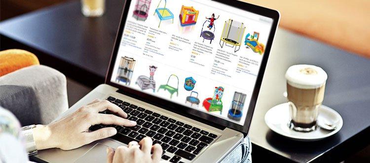 trampoline pour enfant en ligne
