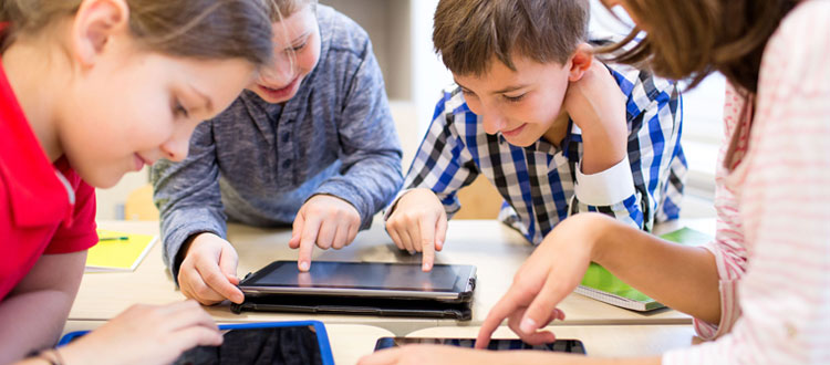Les tablettes tactiles à l'école